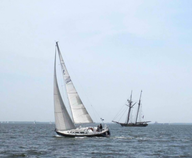 Calypso and Pride, on Chesapeake Bay