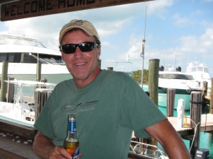005 - Rick at Compass Cay